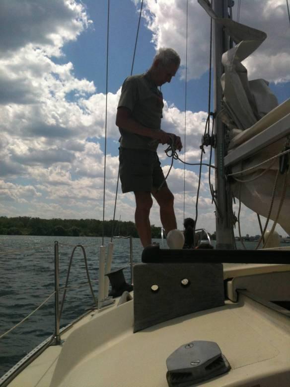 Rick rigging sail
