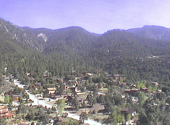 Village in Sierra Mountains