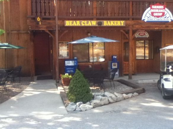 bear claw bakery